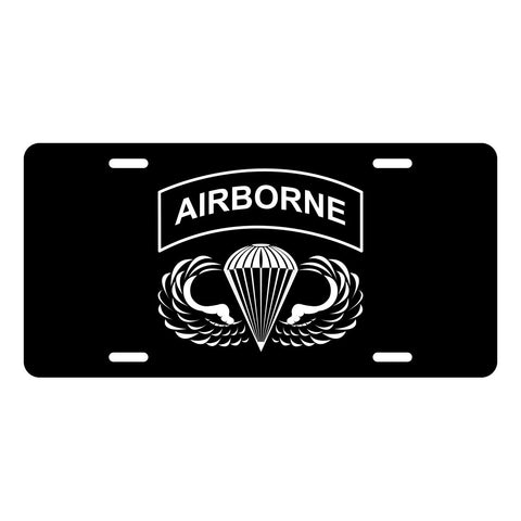 Airborne License Plate LP0004