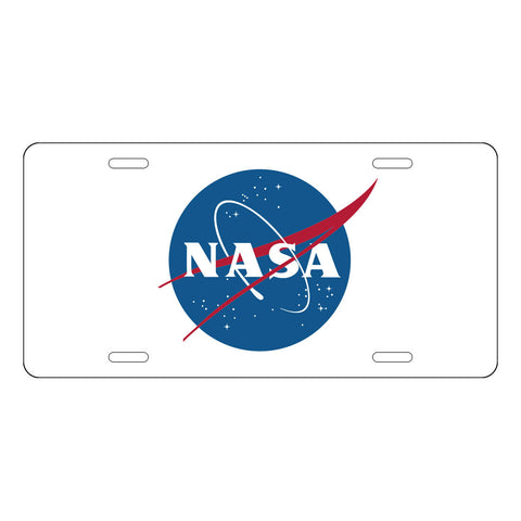 NASA License Plate LP0009