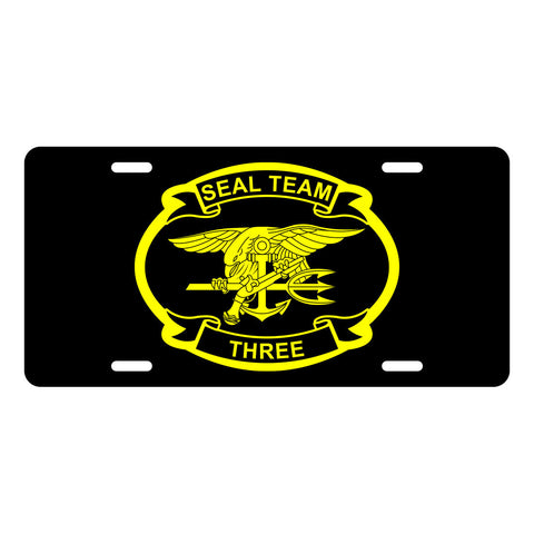 SEAL Team 3 License Plate LP0016