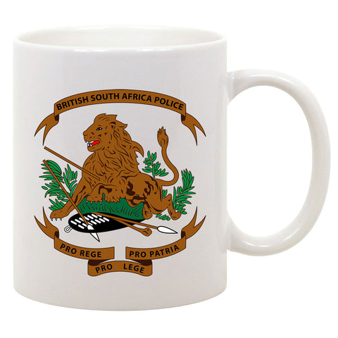 Rhodesian - British South Africa Police Coffee Mug
