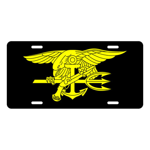 Navy SEAL License Plate LP0002