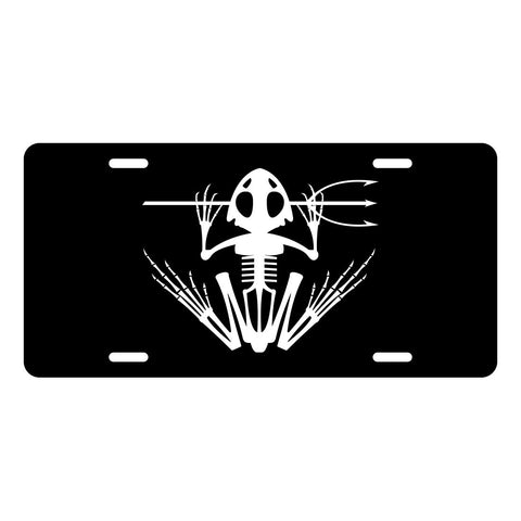 Navy SEAL Frog License Plate LP0003