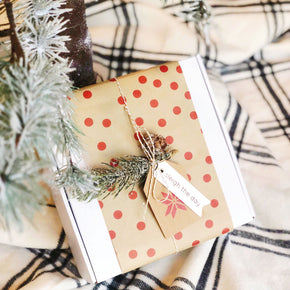 sleigh the day holiday mom + baby gift box