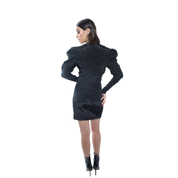 """Janet"" Structured Jacket Dress"