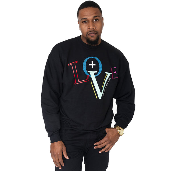 "Men's  ""Love"" Sweatshirt"