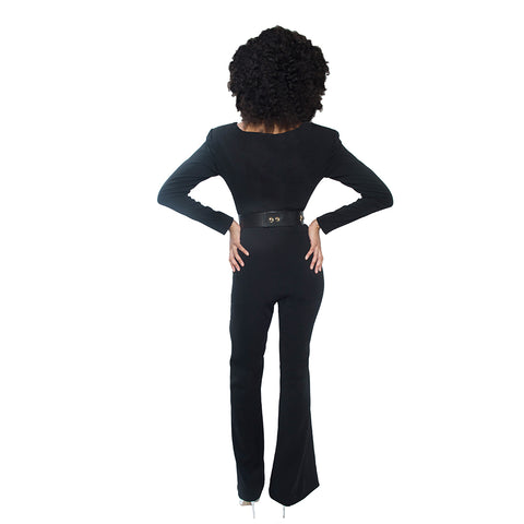 """Roxanne"" Wide Leg Jumpsuit"