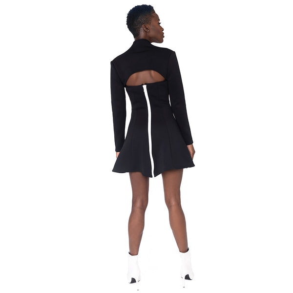 """Jettson"" Cutout Mini  Dress"