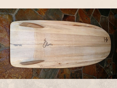 Steve's Mini Simmons Hollow Balsa Board