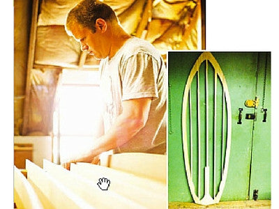 Wood Surfboard Blanks