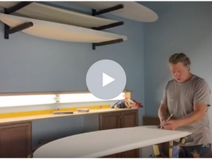 Shapers Corner - Shaping Mini Simmons 80/20 Rails