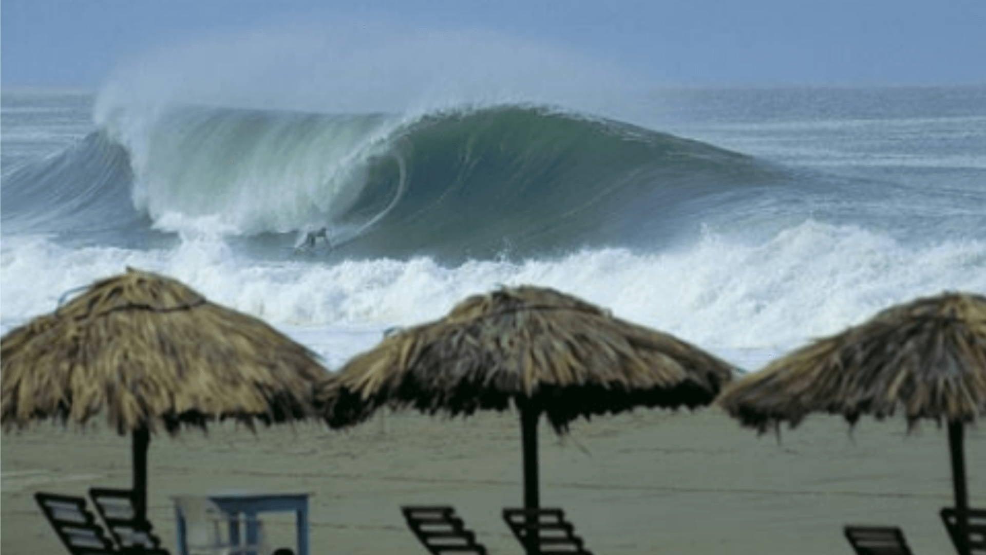 Surfing in Oaxaca