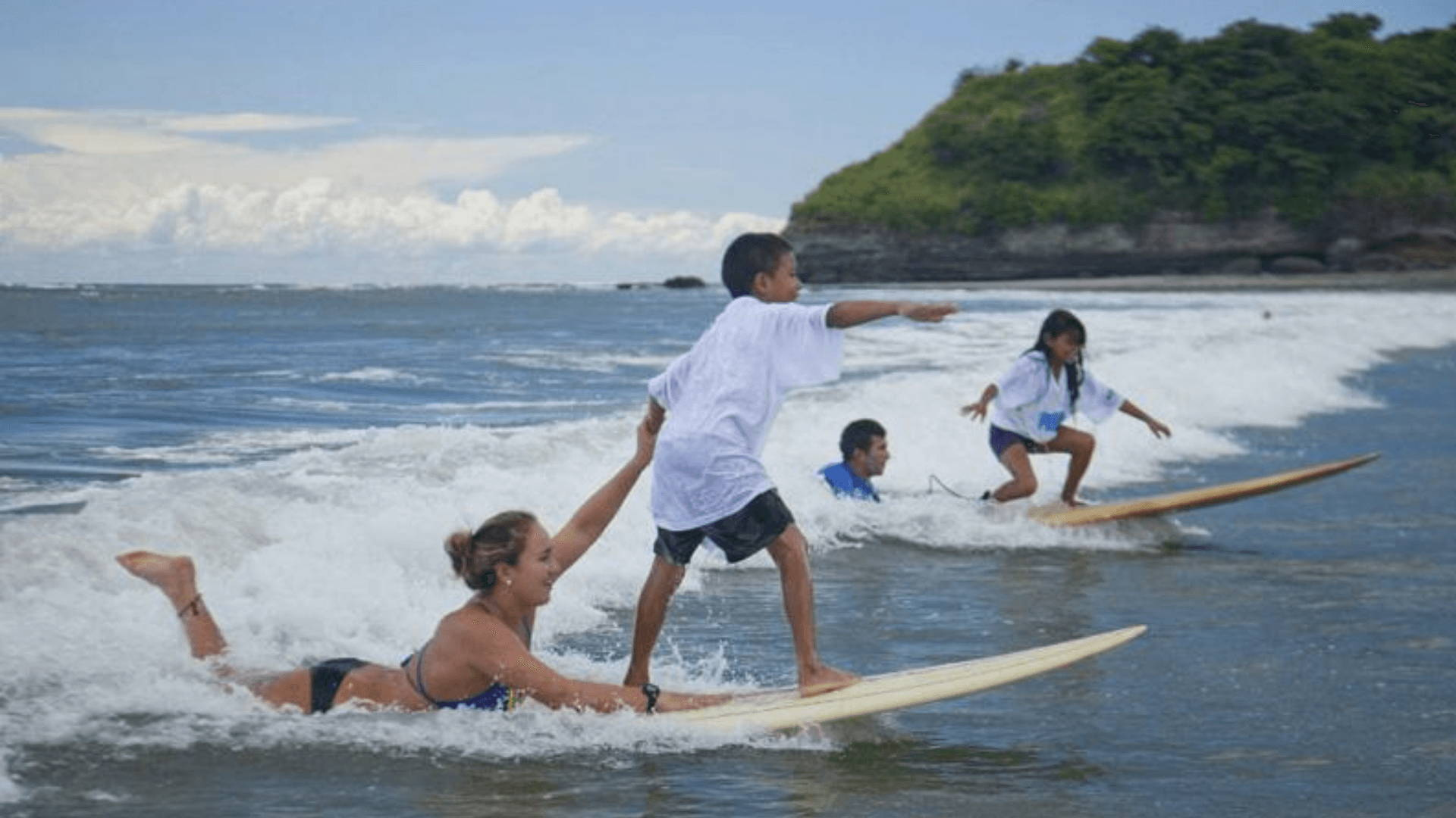 Inspire A Kid To Surf, Change A Life