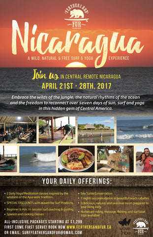Experience Nicaragua with Feathers and Fur!
