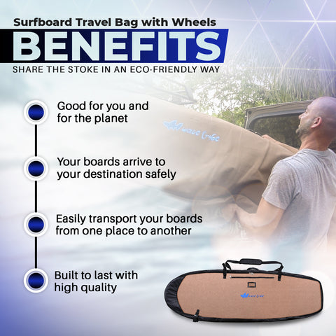 Surfboard Travel Bag Benefits