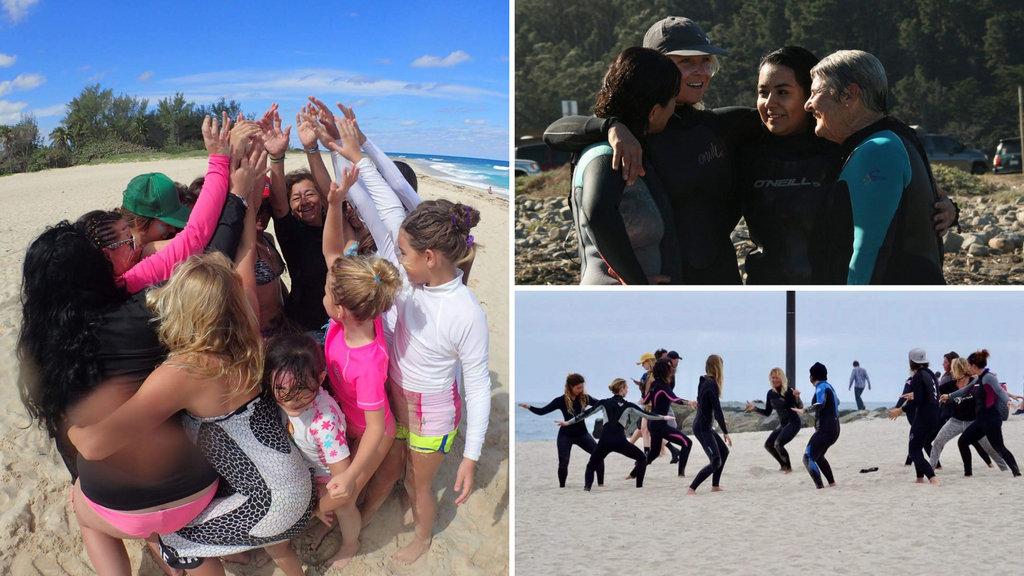 Surf and Heal Together with the Women of Groundswell Community Project