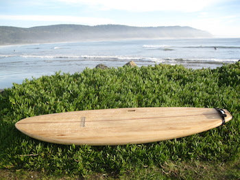 "8'11"" Clearwood South Beach Wood Surfboard Kit"