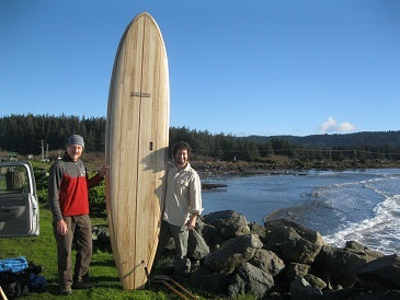 "10'10"" Clearwood Checto Wood Surfboard Kit"