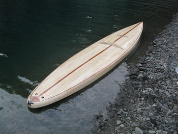 "12'6"" Clearwood Umpqua Wood Surfboard Kit"