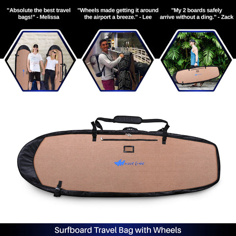 Tiger Queen Surfboard Travel Bag