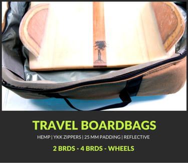 TRAVEL SURFBOARD BAGS