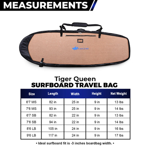 Tiger Queen | Pro Quiver Style | 4 brds