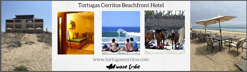 Playa Cerritos is the only swimable beach north of Cabo San Lucas on the Pacific Ocean.