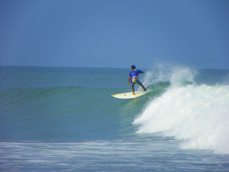 Surfing Sinaloa Mexico