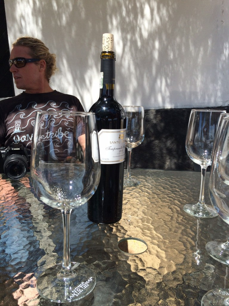Surfing Northern Baja Wine