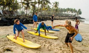 Surf and Soul Lesson, Kerala