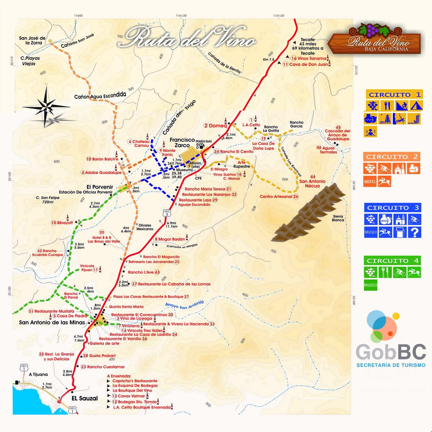 Valle-De-Guadalupe-Wine-Map