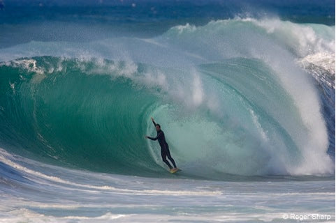 Surfing Souther France