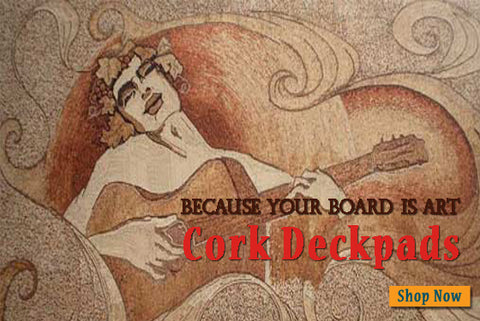 Cork Deckpad Vampire Squid Two