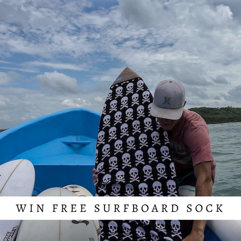 Win Free Surfboard Sock