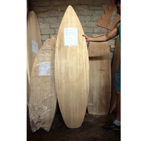 Chambered Shortboard Balsa