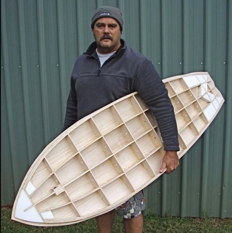 Wood Surfboard Kit
