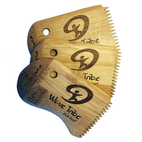 Wave Tribe Bamboo Wax Comb - Wave Tribe | Share The Stoke ®