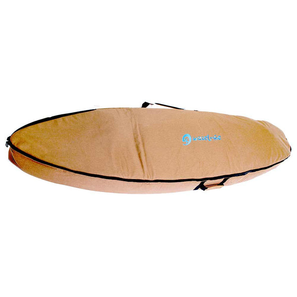 Wheelie Surfboard Travel Bag | Shortboard Bag with Wheels | 2 Brds - Wave Tribe | Share The Stoke ®
