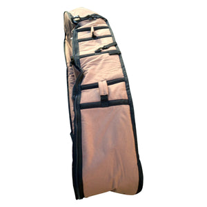Surfboard Travel Coffin | Surf Bag With Wheels | Fits 4 Brds - Wave Tribe | Share The Stoke ®