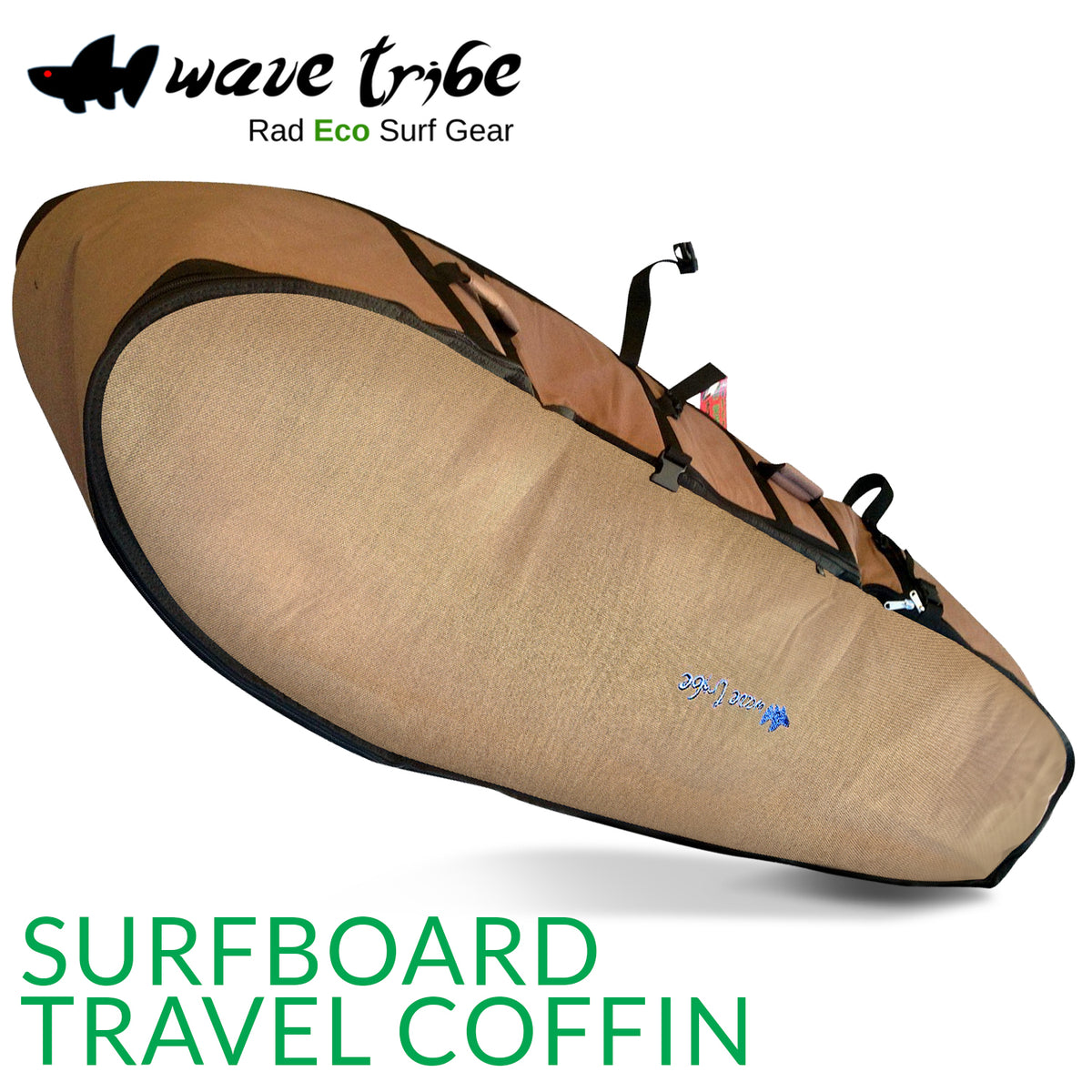 Hemp Travel Coffin 7'6