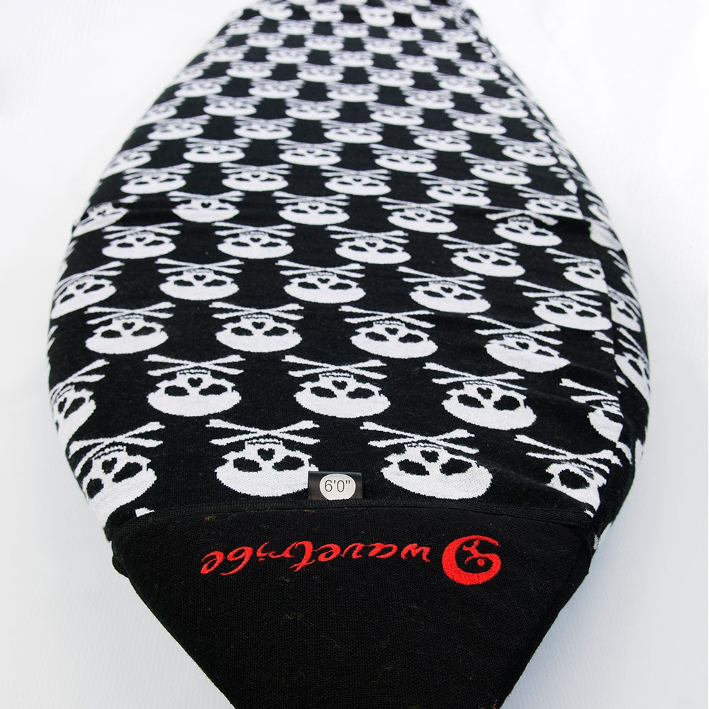 Skull Eco Boardsock - Longboard & Malibu - Wave Tribe | Share The Stoke ®