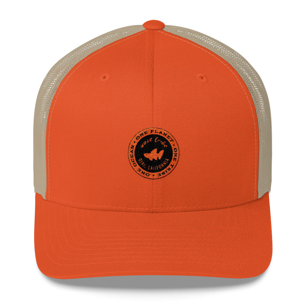 Wave Tribe Ojai, California Trucker Cap
