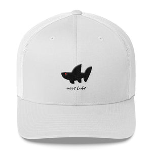 Wave Tribe Whale Shark Logo Trucker Cap