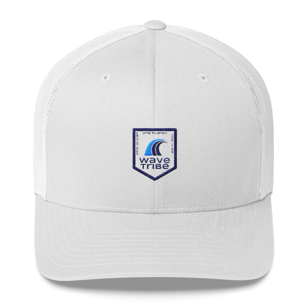 Wave Tribe One Ocean, One Planet, One Tribe Trucker Cap