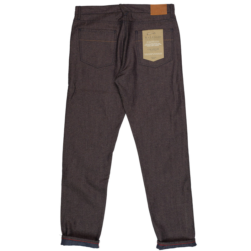 Raleigh Denim Workshop Graham Taper Bracken Canvas Back