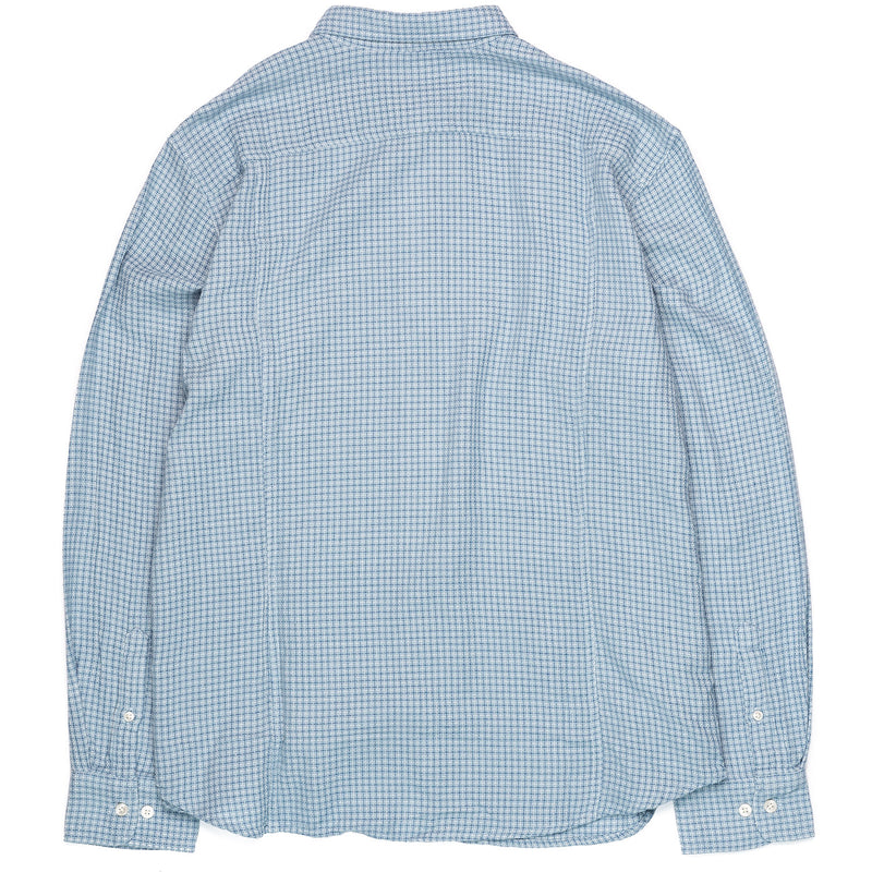 Corridor Long Sleeve Sky Blue Summertime Check Back