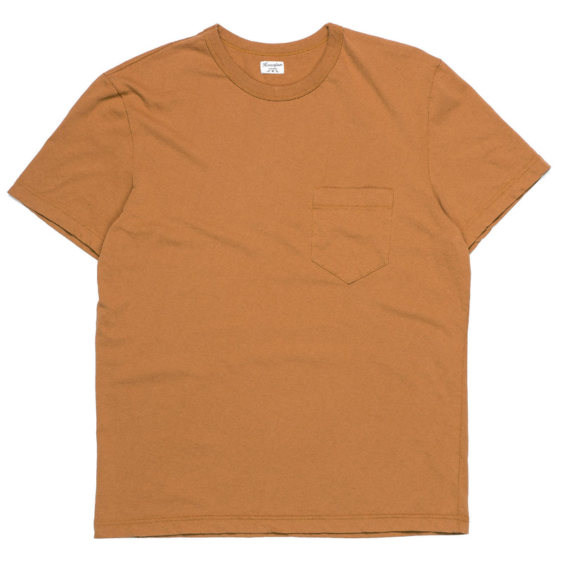 Homespun Knitwear Dad's Pocket Tee Tobacco Front