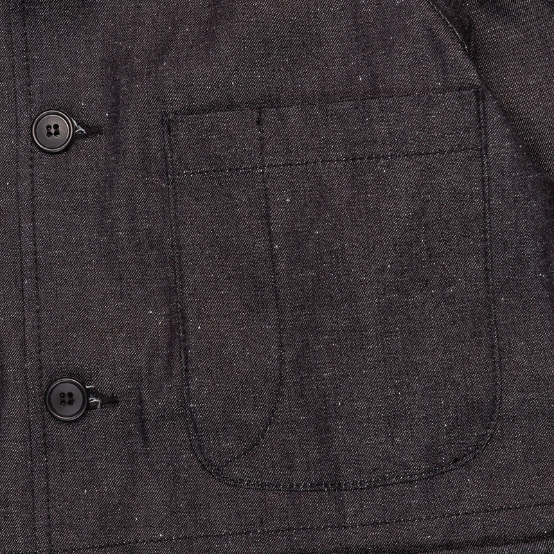Rogue Territory Explorer Blazer Neppy Indigo Chest Pocket