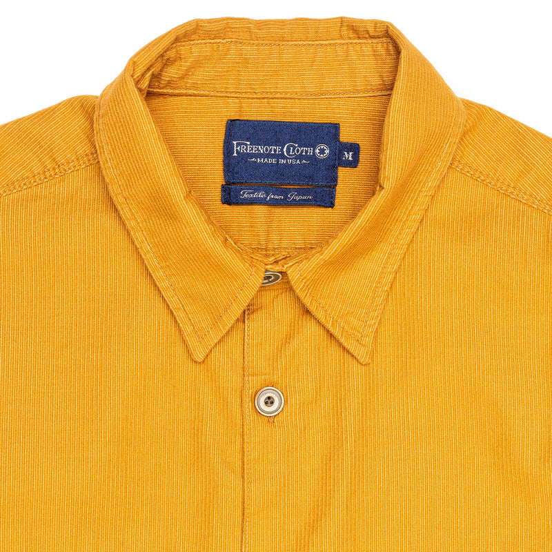 Freenote Benson Gold Corduroy Collar
