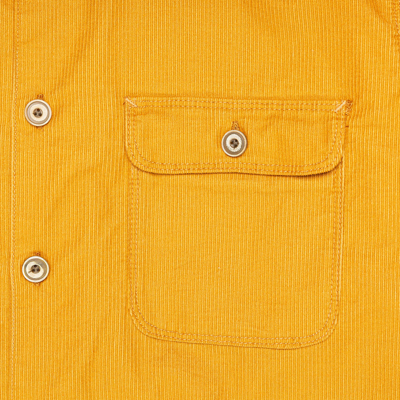 Freenote Benson Gold Corduroy Chest Pocket