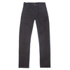 Left Field Kerouac Chino—13 oz Black Sueded Duck